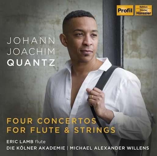 Quantz: 4 Concertos for Flute & Strings (95, 97, 109 + 146)