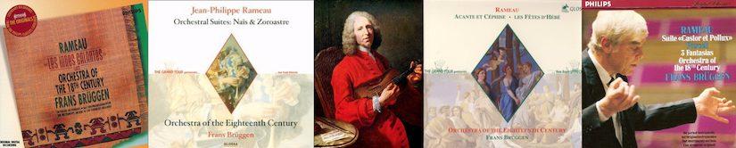 Orkestsuites van Rameau door het Orkest van de 18e Eeuw