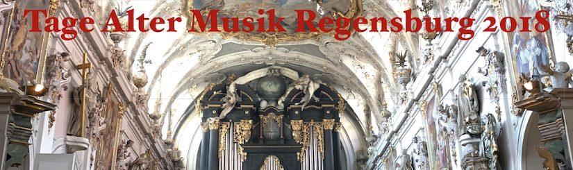 Tage Alter Musik Regensburg 2018