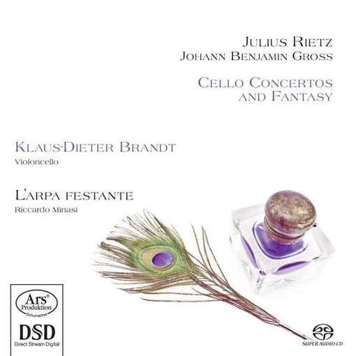 Rietz & Gross: Cello Concertos and Fantasy