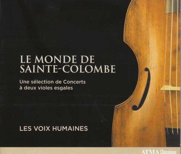 Le Monde de Sainte-Colombe