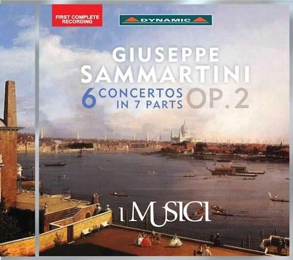 Sammartini: 6 Concertos Op. 2