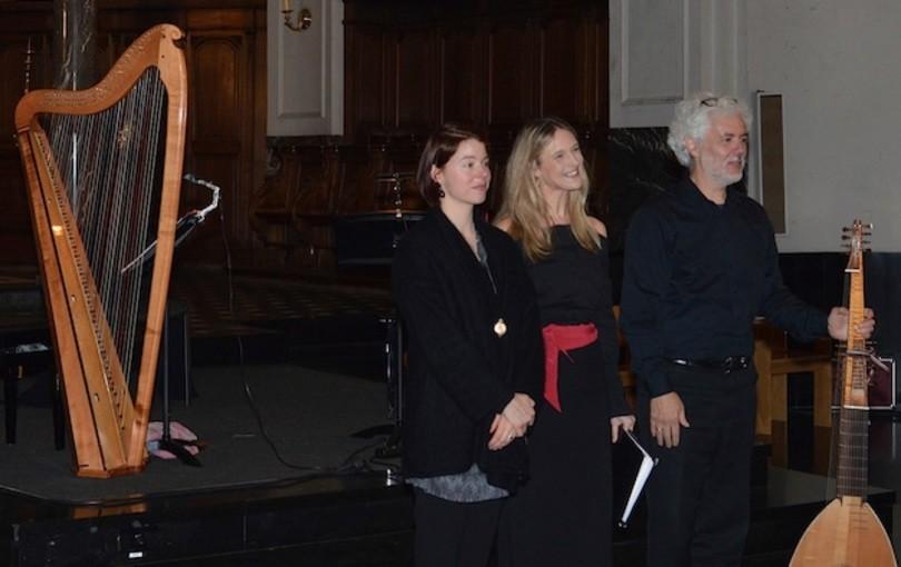 Céline Scheen, Eduardo Egüez & Giovanna Pessi met 'L'Amante Segreto' in Baarnse Paaskerk