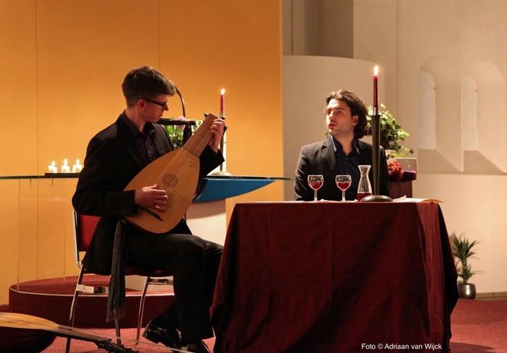 Een intiem avondje 'airs de cour' in Baarnse Paaskerk