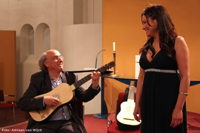 Soledad Cardoso en José Miguel Moreno veroveren Paaskerk