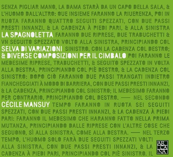 La Spagnoletta – Selva di variazioni & diverse composizioni per cimbalo