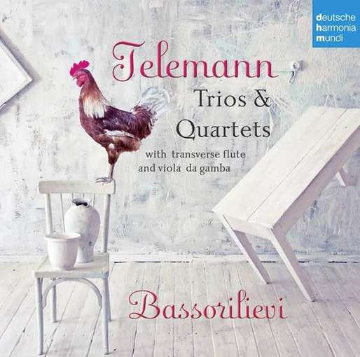 Telemann: Trios & Quartets with Transverse Flute and Viola da Gamba
