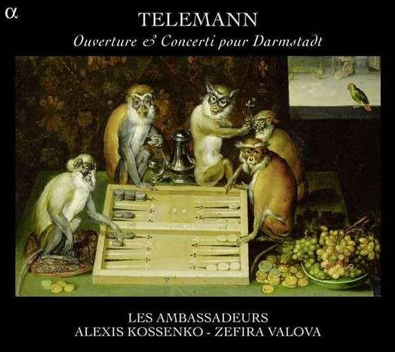 Telemann: Ouverture & Concerti pour Darmstadt
