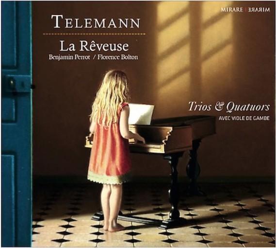 Telemann: Trios & Quatuors avec viole de gambe