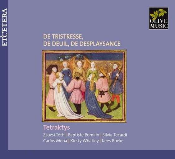 De tristresse, de deuil, de desplaysance – Songs from Ms. Oxford, Bodleian Library