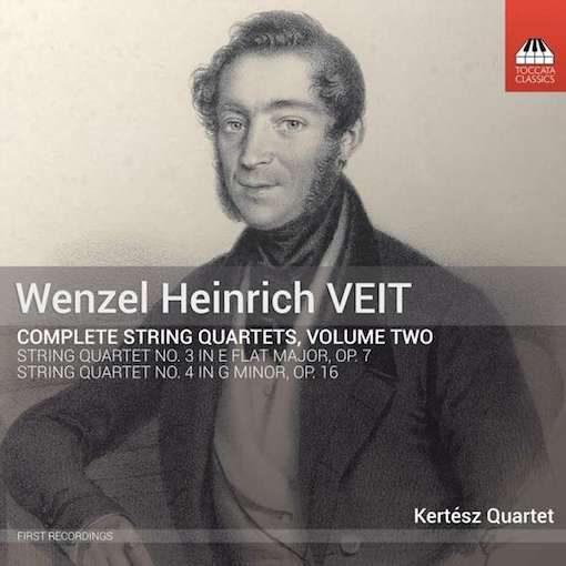 Veit: Complete String Quartets, Vol. 2