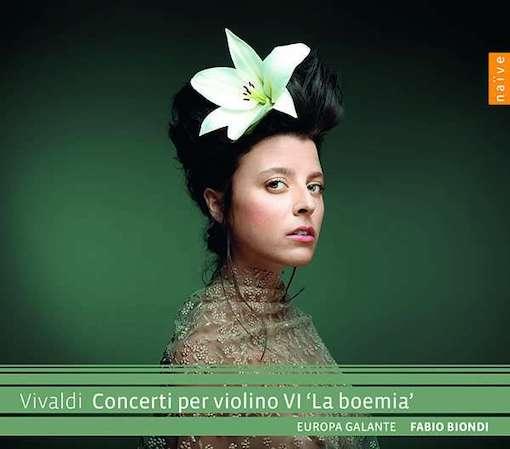 Vivaldi: Concerti per violino VI 'La boemia'