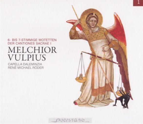 Vulpius: 6- bis 7-stimmige Motetten der Cantiones Sacrae I