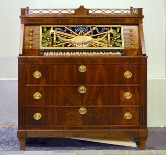 Wachet auf – Het Wimmenhove-bureau-orgel