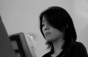 Yoko Kaneko in de Baarnse Paaskerk (2011) Foto © Ben Schomakers